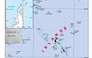 The place-names selected includes a group of islands in the Grandidier Channel named the IAATO Islands