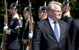 Swedish Defense Minister Peter Hultqvist switches to Cold War mode alert