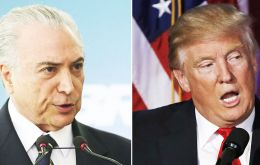 """Temer and Trump agreed to launch, immediately after the swearing in of the new American president, an agenda for Brazil-U.S. growth,"" the statement said."