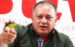 "Cabello claimed all was done on orders from Macri, ""from the coward Macri, yes I'm calling you a coward, your goons beat up Delcy a woman""!"