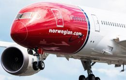 Low-cost carrier Norwegian wants to start operating in Argentina