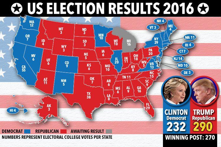 US Electoral College 538 ballots set to confirm Trump as ...