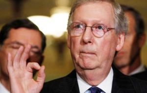 """Recent reports of Russian interference in our election should alarm every American,"" senators wrote in a letter to majority leader Senator Mitch McConnell"