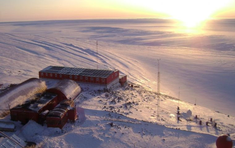 Belgrano II is Argentina's southernmost base in Antarctica