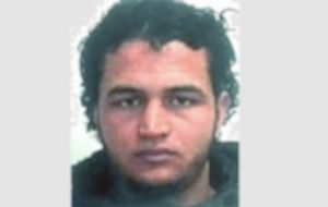 Manhunt is on for Anis Amri, the Tunisian jihadist whose asylum application was turned down but his deportation from Germany never took place