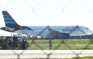 Nobody was hurt and the two hijackers of the Lybian airliner eventually surrendered to Maltese authorities after four hours