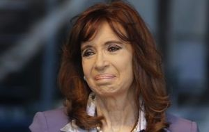 Cristina Fernandez also had her assets frozen by Judge Ercolini.