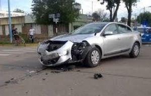 Lorenzetti's Renault Fluence on Nov. 13 following the accident