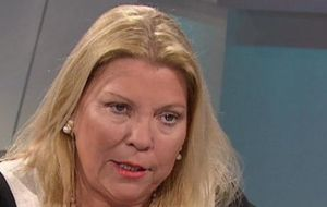 Deputy Elisa Carrio has long vowed to push for Lorenzetti's impeachment.