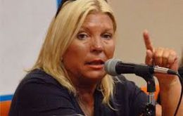 Lawmaker Elisa Carrió, a close ally of president Macri, will be the first president of the Malvinas Observatory in the Lower House