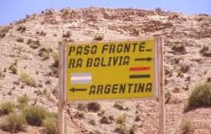 There will also be a US$ 4 entry tax to people getting into Bolivia by land.