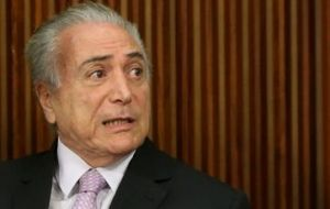 When Temer came aware of the tender he determined that it should be immediately canceled.