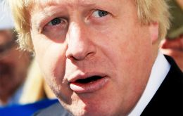 On Monday Boris Johnson will be in the capital, Washington D.C, to meet key congressional leaders.