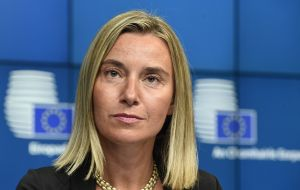 "Jauregui has pleaded EU Foreign affairs commissioner Federica Mogherini ""to take advantage"" of the current situation"