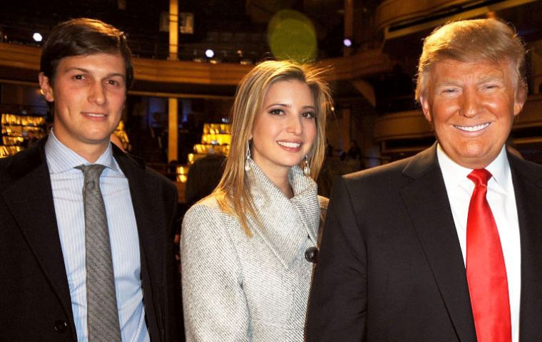 Jared Kushner, who is married to Ivanka Trump, is a property developer with a wide range of business interests.