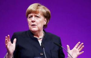 "Merkel repeated that there must be no negotiations based on ""cherry picking"" of the Union's four freedoms of movement for capital, goods, services and people."