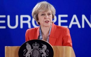 """We will have a new relationship, but I believe that can be a relationship which has a good trading deal at its heart, the best possible deal for the UK"", said PM May"