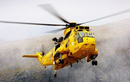 Since the end of the 1982 conflict the Sea King helicopters have been part of Falklands' daily life