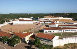 The Alcacuz prison, just outside the state capital Natal, was built for a maximum of 620 inmates but currently houses 1,083, the state justice department said.