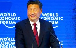 "Xi said the world should not write off globalization altogether, but instead countries must ""cushion its impact."""