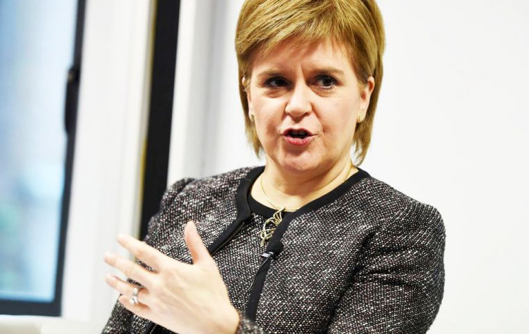 "Ms Sturgeon, in a BBC interview, agreed that another vote on independence was ""all but inevitable""."