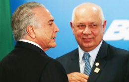 """He was a good man and a source of pride for all Brazilians,"" Temer said, who declared three days of national mourning in Brazil for the death of the Justice"