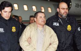 Guzman arrived around 9:30 p.m. at Long Island MacArthur Airport in Islip, N.Y., located about 50 miles east of Manhattan