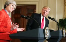 "Trump said Brexit is going to be a wonderful thing: Britain would be able to reach ""free trade deals without somebody watching you and what you are doing."""