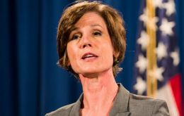 "The White House said Ms Yates had ""betrayed"" the department. Dana Boente, US attorney for the Eastern District of Virginia, replaces her as acting AG"