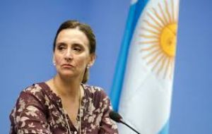 Vice President Gabriela Michetti said the measure did not change Argentina's pro-immigration outlook, and sought to avoid any association with Trump's measures