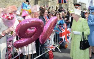 The Queen celebrated her 90th birthday last year and had a busy schedule commemorating the occasion