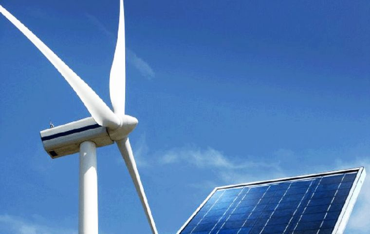The government has set a target to increase the share of renewable energy to 20% in the energy mix by 2025.