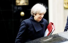 May said that the White Paper will include the government's approach to the statuses of both EU nationals living in the U.K. and British citizens living in the EU (AP)