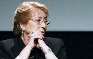 "In response, Bachelet said that she had been asked about the accusation before and that she ""emphatically discarded"" any links to the engineering group."