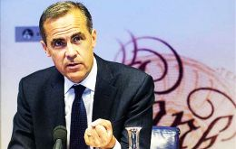 """The Brexit journey is really just beginning,"" Bank of England Governor Mark Carney, ""but there will be twists and turns along the way."""