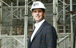 Eric Trump visited Uruguay on behalf of the Trump Organization before his father's Jan. 20 inauguration, The Washington Post reported.