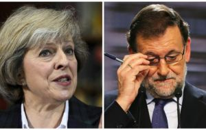 Number 10 said Spanish prime minister Mr Rajoy backed Mrs May's hopes for an early deal during talks on the margins of an EU summit in Valletta.
