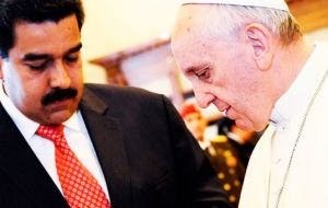 Maduro is reportedly hoping to meet with the Pope at the Vatican, along with representatives from his opposition.