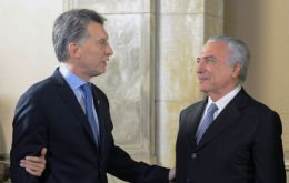 In a state visit to Brasilia Macri said that Mercosur would focus on strengthening its relationship with Mexico, Latin America's second-largest economy after Brazil.