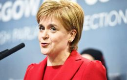 Ms Sturgeon predicted the vote would be one of the most significant in the Scottish Parliament since devolution.