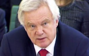 "Brexit Secretary David Davis has warned the House of Lords to do its ""patriotic duty"" and back the European Union (Notification of Withdrawal) Bill."