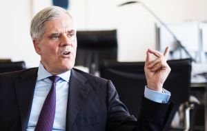"Dombret said following Brexit, UK might try to become the ""Singapore of Europe"" by cutting taxes and relaxing financial regulations to encourage banks to London"
