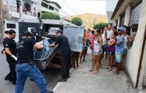 The result was an extraordinary wave of violence in Espirito Santo, including more than 130 homicides. Amid the insecurity, many state services were suspended.