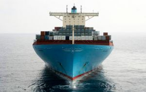 Fellow shipping giant Maersk, earlier this month revealed a US$1.9bn net loss for 2016 - just its second annual loss since World War Two.