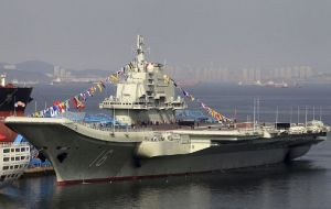 Brazil was a mentor to China's fledgling carrier program—in 2009, Brazil agreed to train Chinese navy officers on the São Paulo.