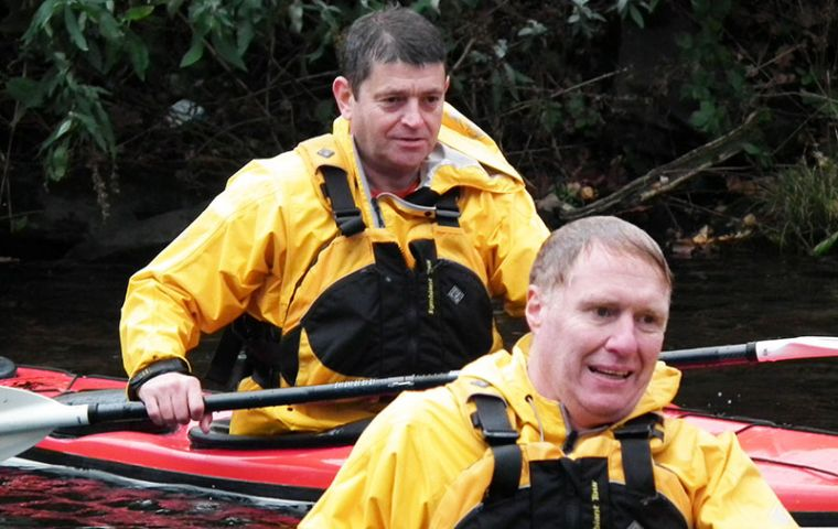 Before embarking on this challenge both Steve and Mick were novice kayakers so have had to learn how to kayak effectively as well as train in skills