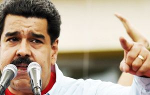 "Responding to sanctions against El Aissami, Maduro said, ""They are not attacking Tareck, they are attacking a country, a revolution and I am the final objective""."