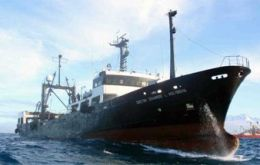 "Argentina's ""Dr. Eduardo L. Holmberg"" research vessel left for a second cruise"