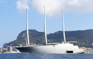 Yacht A was arrested a week ago over an admiralty claim filed by German shipyard Nobiskrug against Valla Yachts Limited, the Bermuda-registered owner.