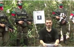 Franz, who turned 18 while in captivity, is shown in an EPP video